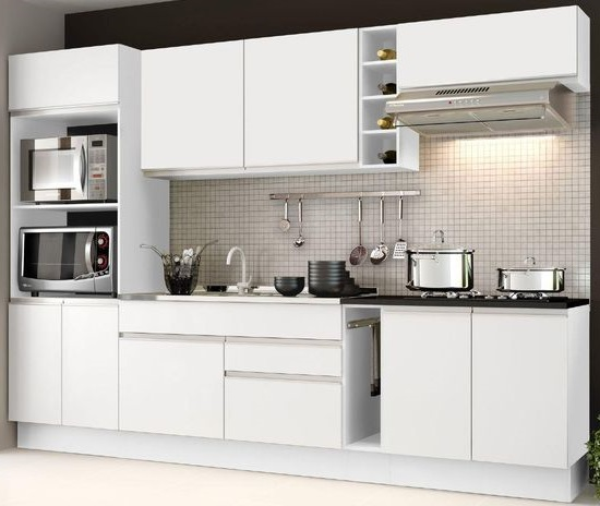 Kitchen Set Murah Tipe Variasi Si Putih