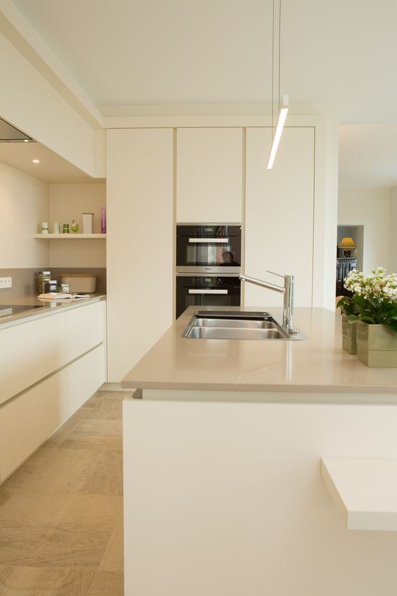 Kitchen Set Warna Putih Tua